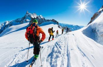 Auli Skiing Festival in Winter